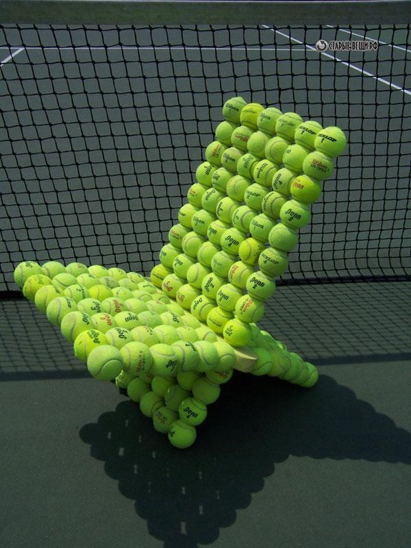 Tennis Ball Chair Daily Wrap